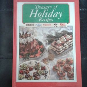 Cook book Treasure of Holiday Recipes